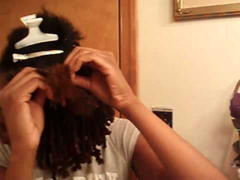 Nubian Twist Tutorial using Eon Natural Nubian Silk Hair
