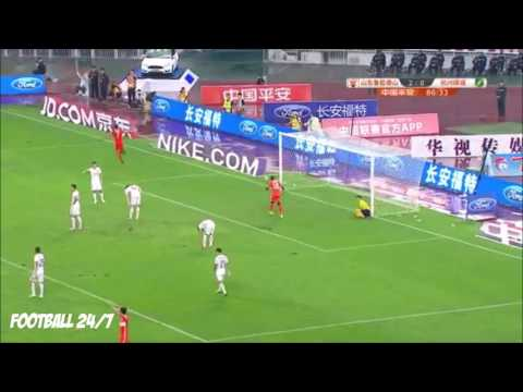 Graziano Pelle First Goal In Chinese Super League
