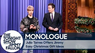 Julio Torres Offers Jimmy Easy Christmas Gift Ideas - Monologue