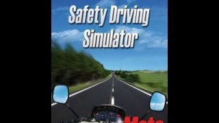 Safety Driving Simulator Moto Gameplay