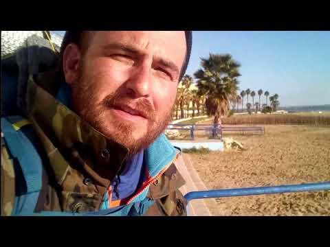 Llegamos a Puerto Real playa CACHUCHA y charlamos con habitantes del lugar - 15 enero 2018