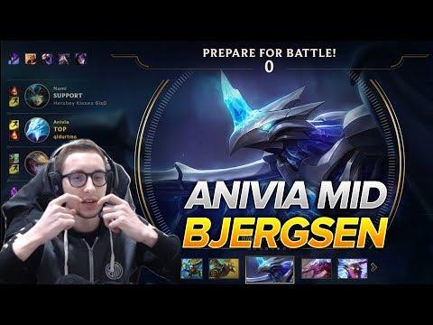 612. Bjergsen Anivia vs. Lux Mid - Patch 8.8 Season 8 - BJERGSEN STREAM