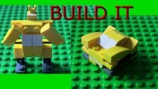 Lego Mini Bumblebee Pocket Transformer Tutorial