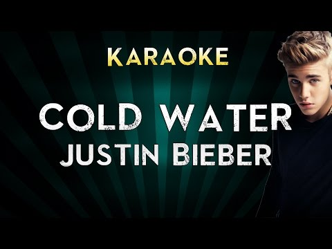 Major Lazer - Cold Water (feat. Justin Bieber & MØ)   LOWER Key Karaoke Instrumental Lyrics Cover