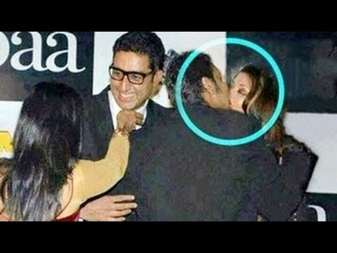 Aishwarya Rai & Ajay Devgan's HOT KISS in PUBLIC -- SHOCKING