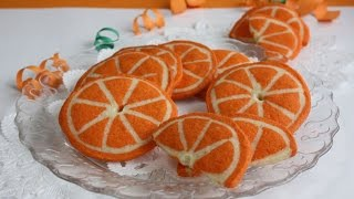 How to make Orange Cookies (Just like in Orange Cookies ) なんちゃってオレンジクッキー