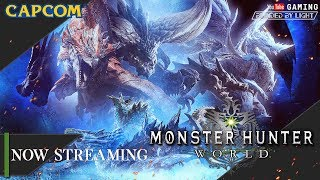 Monster Hunter World (PC) | LIVE STREAM | Let's Play | Vaal Hazak & Xeno'jiiva | Ending