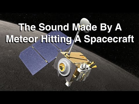 What Does A Meteorite Hitting A Spacecraft Sound Like?