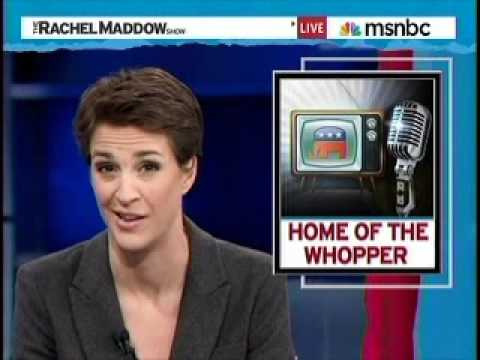 Rachel Maddow Explores Right Wing Lying Echo Chamber
