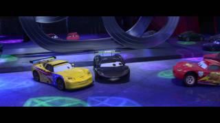 Cars 2: Lewis Hamilton / Jeff Gorvette Cameos - Clip
