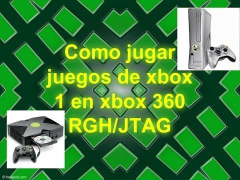 Como jugar juegos de xbox 1 en xbox 360 RGH JTAG