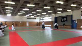 第57回松本市市民体育祭春季大会合気道の部(4月20日)演武会