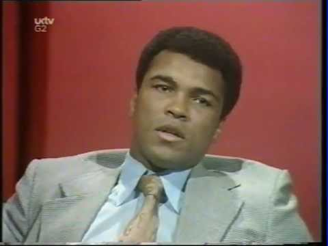Muhammad Ali Parkinson Interview 1974 (better sound)