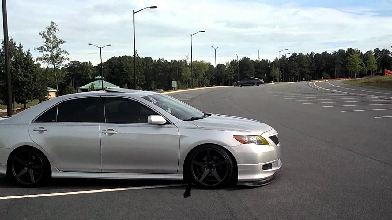 2007 Toyota Solara Intake And Exhaust Youtube