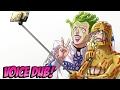 【HD】JOJO - Cioccolata/Giorno Giovanna VOICE DUB!!!