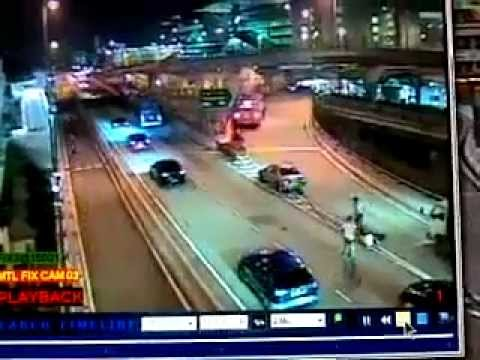 Kemalangan Maut Polis Trafik Terbunuh Di CIQ Johor Bahru
