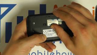 How To Insert & Remove a SIM Card - ZTE Skate