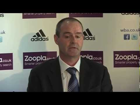 Steve Clarke Unveiled As West Bromwich Albion Manager