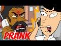 Crazy Indian Restaurant Rage Prank (animated) - Ownage Pranks