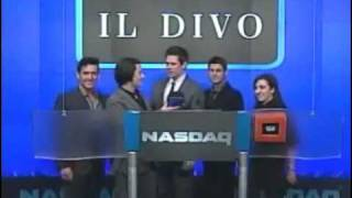 IL DIVO IN NASDAQ CLOSING BELL 22 1 2009