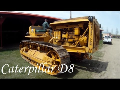 1948 Caterpillar D8 First Start 2012