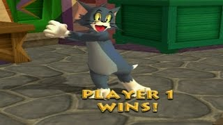 Tom & Jerry War of the Whiskers - Part 1 - Tom Challenges (PS2)