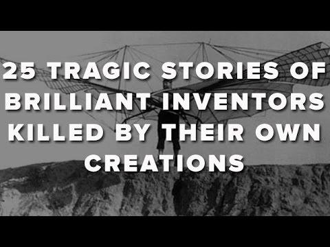 Inventatori omorati de propriile inventii