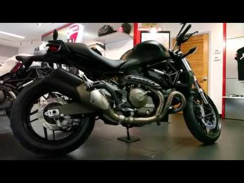 2015 Ducati Monster 821 Delivery at Euro Cycles of Tampa Bay