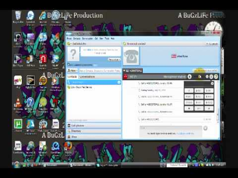 YouTube - How To Make Free Skype Phone Calls! With No Skype Credit Needed!.flv
