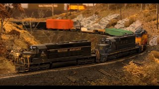 HO Series: Jim Pinkney's Western Maryland Model Railway Layout