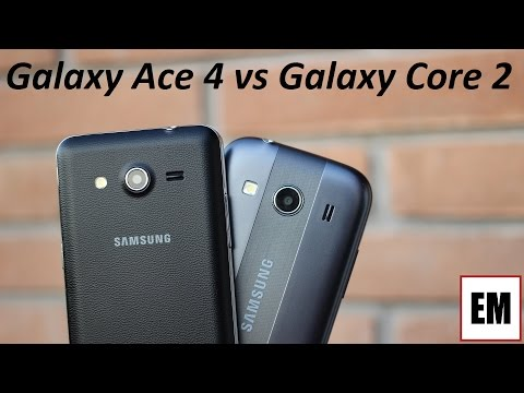 Samsung Galaxy Ace 4 vs Galaxy Core 2 ita da EsperienzaMobile (4K)
