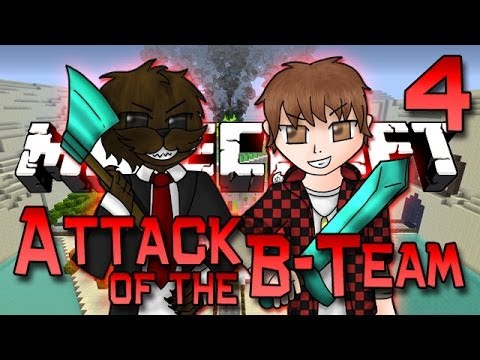 Minecraft: Attack of the B-Team Ep. 4 - Dinosaurs and Masked Tribal Men!! (Tropicraft Mod)