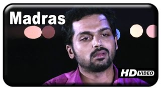 Alex Pandian - Madras Tamil Movie - Karthi and Catherine Tresa have a misunderstanding