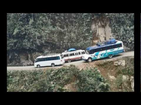 La Carretera de la Muerte, Bolivia, https://www.youtube.com/user/viajero959.