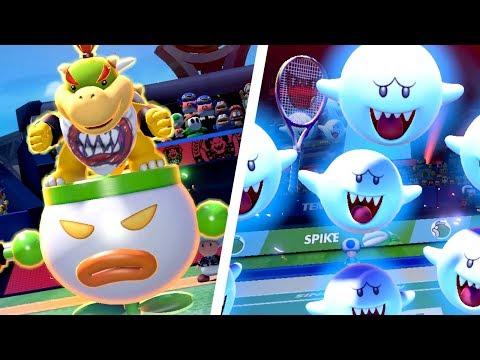 Mario Tennis Aces - All Special Shots