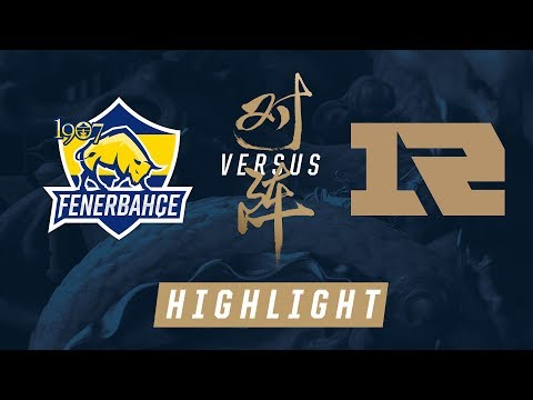 FB vs RNG Worlds Group Stage Match Highlights 2017