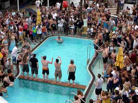 VH1 Best Cruise Ever - Cannonball Contest - Shinedown jumps in - April 2010