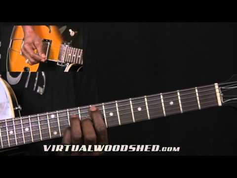 Jazz Guitar Lesson Part 1 with Rick McLemore