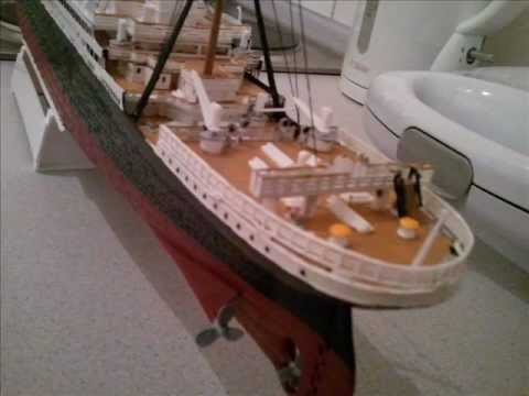 Titanic Model - 1:400 - Revell 05715 - Dec, 2011 - Part 1