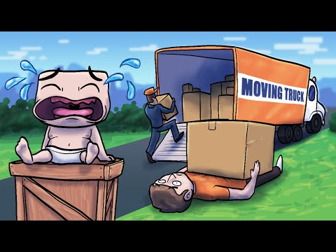 Minecraft   WHO'S YOUR DADDY? Moving Away From HOME FOREVER! (Never Coming Home)