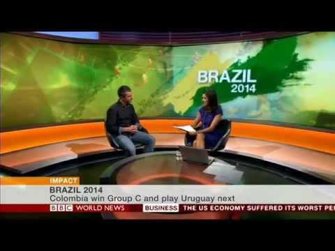 BBC World News Suarez Bite: James Beale Sport Psychologist University of East London