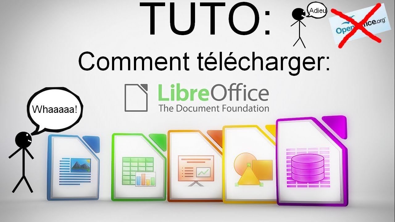 Tuto comment t l charger libre office youtube - Comment telecharger open office gratuit ...