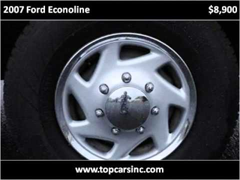 2007 Ford Econoline Used Cars Philadelphia PA