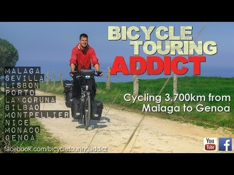 Cycling Europe - Malaga to Genoa