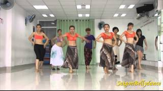 SaigonBellydance|Sheila Ki Jawani - Katrina Kaif|Mr. Long|Bollywood dance