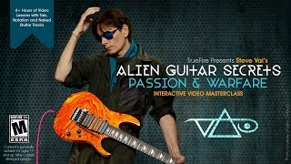 Steve Vai - TrueFireが本人によるギターレッスン動画5本を公開 「Alien Guitar Secrets Passion & Warfare」 thm Music info Clip