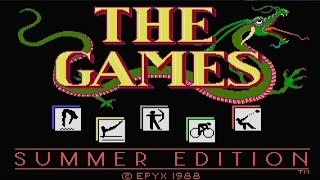 THE GAMES: Summer Edition (PC/DOS) 1988, Epyx Inc