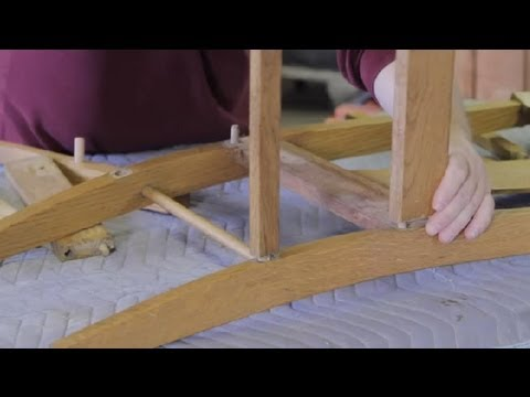 Do-It-Yourself Furniture Repair for High-Backed Wood Chairs : Furniture Repair & Refinishing