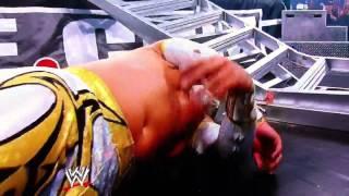 Sin Cara injured at WWE Money in the Bank 2011
