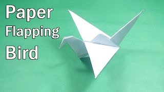 How To Make an Origami Flapping Bird   Paper Flapping Bird Instructions   Easy Paper Origami